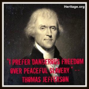 thomas jefferson quotes about freedom