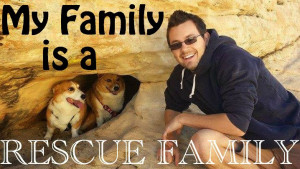 My family is a rescue family!