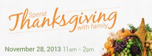 Thanksgiving 2013 Website header