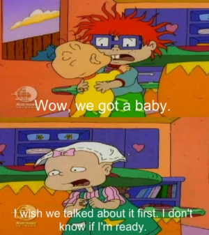 Rugrats Childhood Quotes Funny Nickelodeon