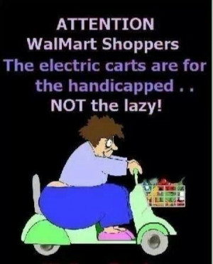 Only at Walmart. Or Sams. And every other place in town. They really ...