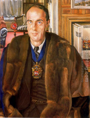 Stanley Spencer : Portrait Of J.e. Martineau