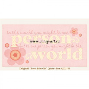 Sweet Baby Girl Quotes