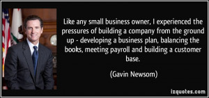 Like any small business owner, I experienced the pressures of building ...