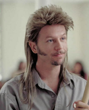 ... david spade as joe dirt in the 2001 comedy the adventures of joe dirt