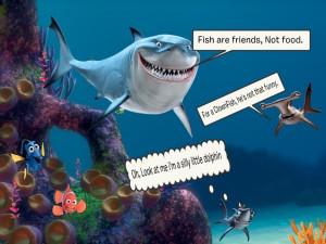 Disney Film Quote Finding Nemo