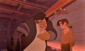 Treasure Planet review Disney Netflix Jim Hawkins John Silver