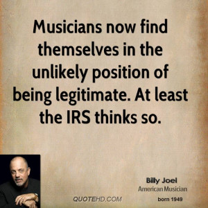 Musicians now find themselves in the unlikely position of being ...