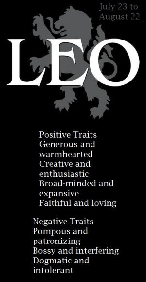 leo - Horoscopes.. AGAIN