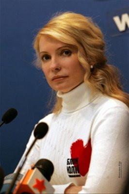 Yulia Tymoshenko, yes please.