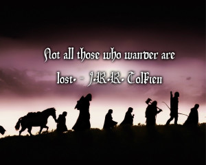 Lord of the Rings J.R.R. Tolkien quote