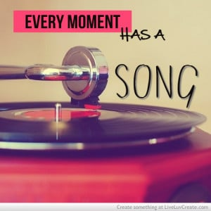 ... love, moment, music, pretty, quote, quotes, record player, song, vinyl