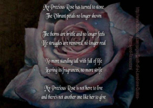 Death of a loved one quotes poems and resources - Words On Images ...