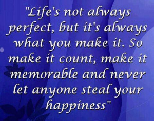 Lifes not perfect picture quotes image sayings