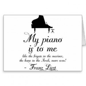 Piano Quotes Cards & More