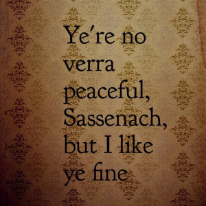 Jamie Fraser Outlander Quotes Love