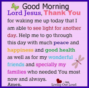 ... am able to see light for another day prayer quote Thank You God Quotes