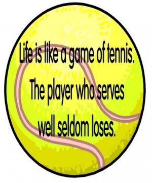 Great Tennis Quotes Inspirational