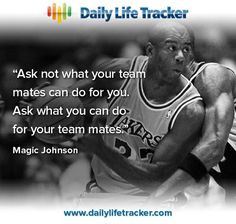 Magic Johnson Quotes About Life Magic johnson.