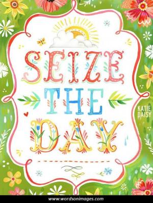 carpe diem seize the day motivational quotes dry erase whiteboard
