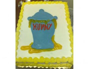 Pooh Bear's cake