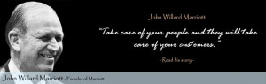 Willard Marriott Quotes J. Willar