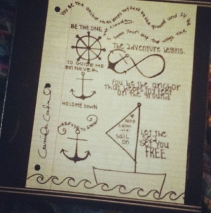 anchor #infinity #sayings #drawings