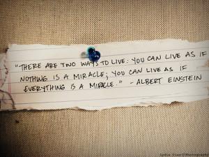 einstein_miracle_quote
