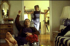 Kevin Spacey and Annette Bening, click to enlarge