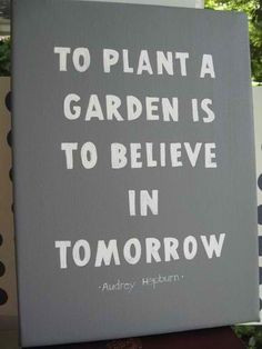 ... Print, Poster, Gardening Gift, Wall Quote, Gardner, 8x10, Quotes