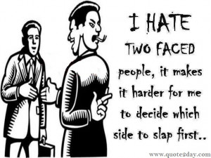 Two Faced People