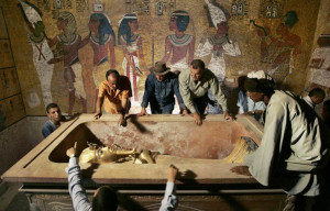 Are half the men in Europe related to King Tut?