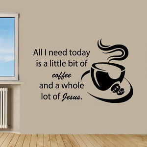 Wall-Decals-Quote-Coffee-Jesus-Kitchen-Cafe-Vinyl-Sticker-Murals-Wall ...