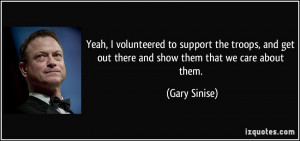 More Gary Sinise Quotes