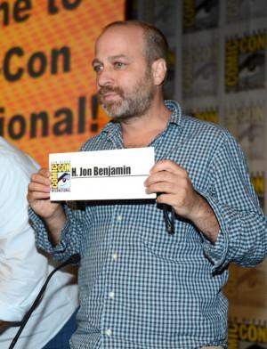 Jon Benjamin - Comic-Con 2012 - Photo by Frazer Harrison/Getty ...