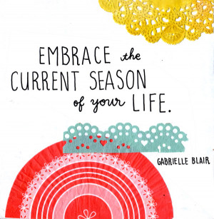 Quote by Gabrielle Blair . Who made it into art? I don't know ...