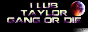 LUB TAYLOR GANG OR DIE cover