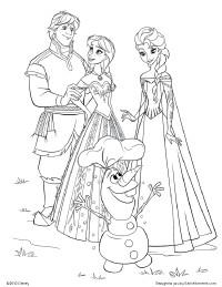 frozen anna, frozen characters, frozen coloring pages, frozen disney ...