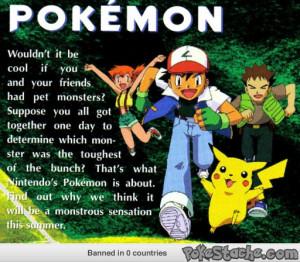 Pokemon Quotes About Life Best description of pokemon