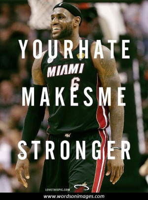 LeBron James Inspirational Quotes