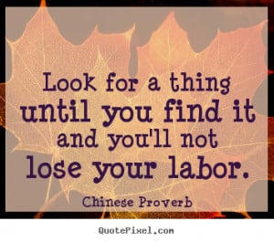 Chinese Proverb Quotes...