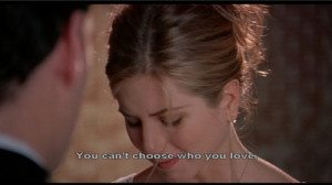 You can't choose who you love