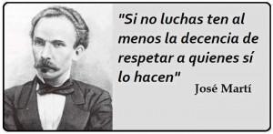 Frase de José Martí