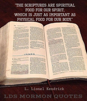 food for our body l lionel kendrick courtesy of lds mormon quotes ...