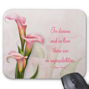 calla_lily_pink_customizable_quote_mousepad ...