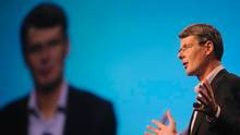 Research In Motion CEO Thorsten Heins. (DAVID MANNING/REUTERS)