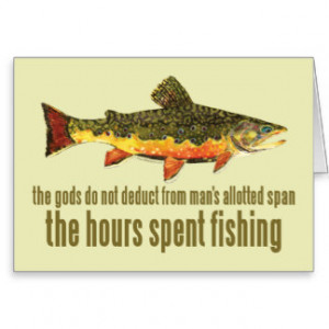 Fishing Sayings Cards & More