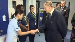 quote the duke of edinburgh told a nurse from the philippines that her