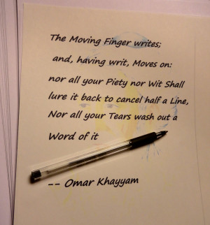 Moves on: – Omar Khayyam motivational inspirational love life quotes ...