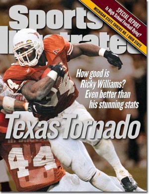 Ricky Williams, Football, Texas Longhorns